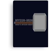 Myeuh-Muh Canvas Print