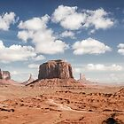 Monument Valley Panorama by Firesuite
