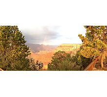 Rainbow Sunset at the Grand Canyon Photographic Print