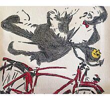 Pee Wee's Big Adventure Bicycle Photographic Print