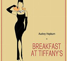 Breakfast at Tiffany's Vintage Movie Poster by FinlayMcNevin