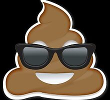 cool poo emoji by chdela