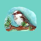SPARROW/COLLECTION/ART/CASES/TEES/PILLOWS/TOTES by Shoshonan