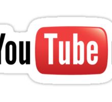YouTuber Corner Logo Sticker