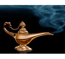 Magic Lamp Photographic Print
