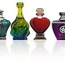 Collection of potion bottles by Paul Fleet