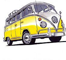 Volkswagen T1 by BSJC