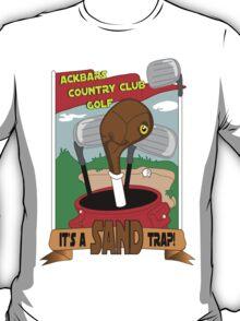 Ackbar Golf T-Shirt