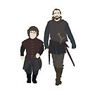 Bronn & Tyrion (Game of Thrones) Minimal by Posteritty
