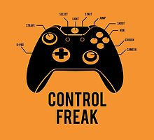 Control Freak by tshirtbaba