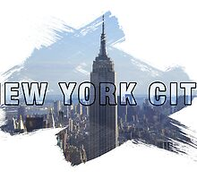 New York City Grunge Logo by retrosauce