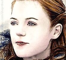 Rose Leslie miniature by wu-wei