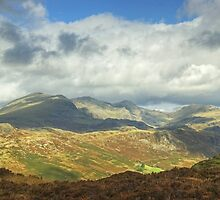 The Scafell Range by VoluntaryRanger