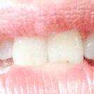 Lip bite by BevsDigitalArt