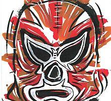 Luchador 2 by hazeleyesstudio