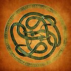Serpent Celtic Knot by Paul Fleet