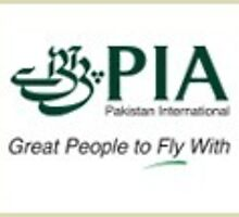 PIA - Pakistan International Airlines Logo Art by mushtaqtravel