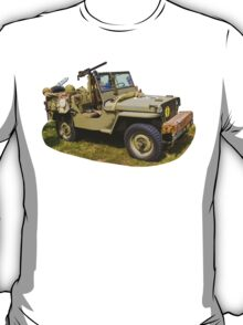 Willys World War Two Army Jeep T-Shirt