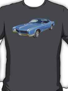 Blue 1967 Buick Riviera Muscle Car T-Shirt