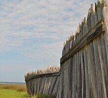 Battleground Fence by FlipFlopArt