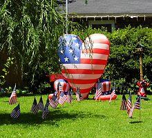 An American Fourth by WildestArt
