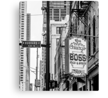 chicago boss Canvas Print