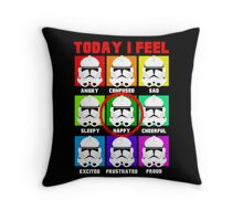 Clone emotions Throw Pillow