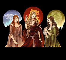 Ladies of Thrones by williamspencer