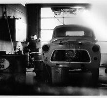 garage scene, road trip by cloewald