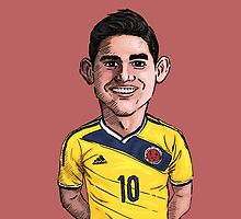 James Rodriguez by Ben Farr