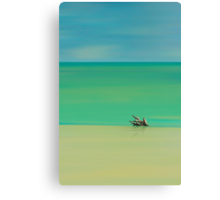 Tropical Layers Canvas Print