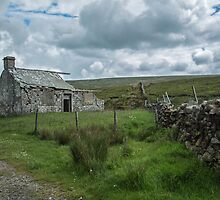 Ruin of Gayle Lodge by Judi Lion