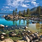 Sand harbor Morning by Kathy Weaver