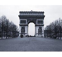 Arc de Triomphe - in 1945 Photographic Print