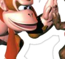 Donkey kong and Diddy Kong Sticker