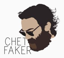 Chet Faker - Minimalistic Print by CongressTart
