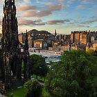 Auld Reekie at sunrise by Beautiful Edinburgh