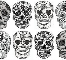 Sugar Skulls by nellie13