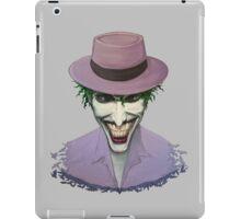 """Acrylic Joker portrait from """"the killing joke""""   iPad Case/Skin"""