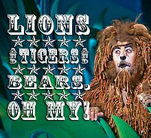 Wizard of Oz-Cowardly Lion by ScaredylionFoto