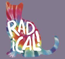 Radical Cat Tie Dye Kids Clothes
