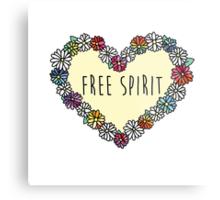 Free Spirit Daisies Metal Print