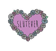 Slutever Daisy Photographic Print