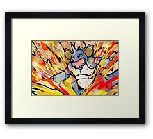 Shiny Nidoking | Earth Power Framed Print
