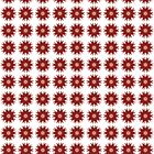 Red Colour Digital Pattern Kaleidoscope 02 by fantasytripp
