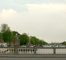 Blauwbrug over the Amstel  (Panorama, full view please!) by steppeland