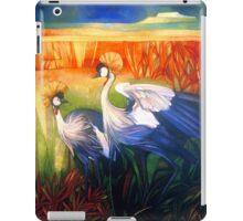 "crane ""balearica pavonina"" iPad Case/Skin"