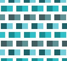Brick Fever - Ocean by LINA Design