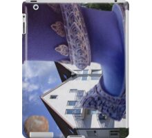 giant in front of the house iPad Case/Skin