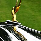 "1932-37 ""Cormorant"" Hood Ornament by Marilyn Harris"